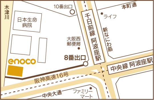 大阪府立江之子島文化芸術創造センターMAP